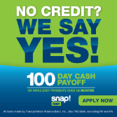 No Credit? We Say Yes!